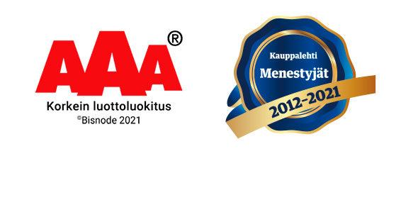 AAA- ja Menestyjä -merkit